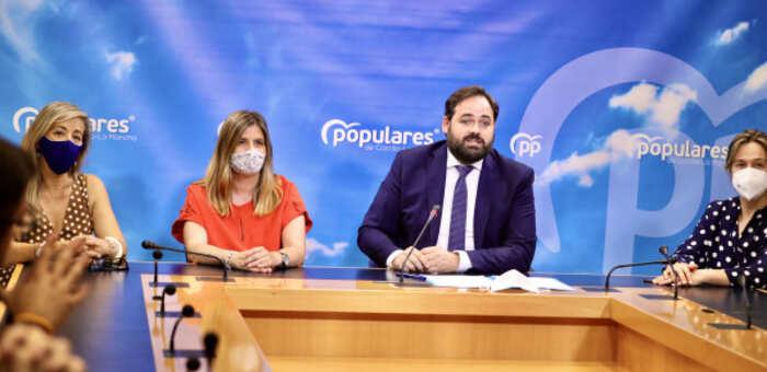 Núñez avanza que el PP-CLM llevará el jueves al pleno de las Cortes la aprobación y convocatoria de la Comisión de Estudio sobre el COVID-19
