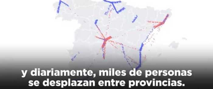 """El PSOE lanza un vídeo para explicar el mapa del coronavirus en la región: """"Todos los días, 200.000 personas se mueven entre CLM y Madrid"""""""