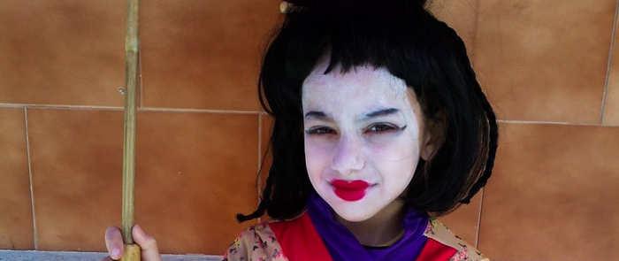 Maquillaje de carnaval para niños, ¿seguro?