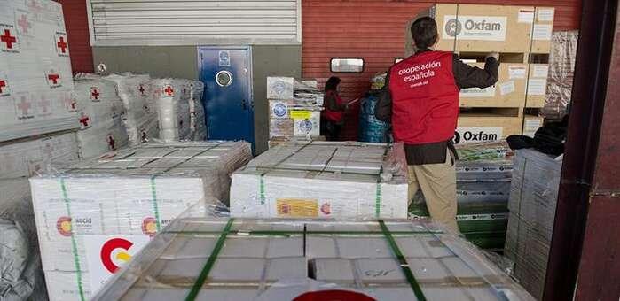 La Cooperación española envía a Haití 30 toneladas de ayuda humanitaria
