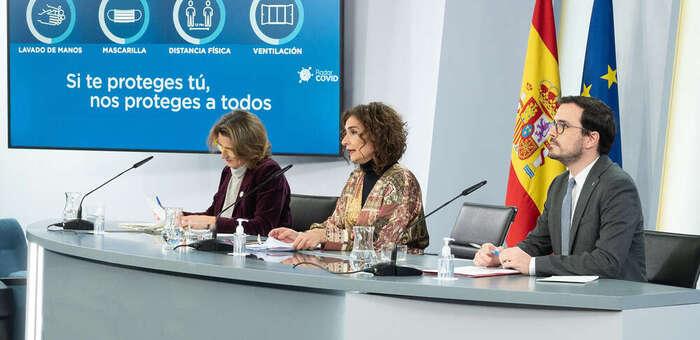 El Gobierno destina ayudas a ocho comunidades autónomas para paliar los efectos de la borrasca Filomena