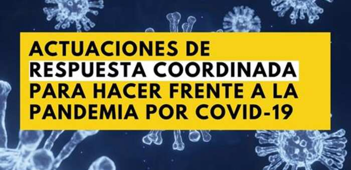 El Consejo Interterritorial del Sistema Nacional de Salud acuerda un documento de actuaciones de respuesta coordinada frente a la pandemia