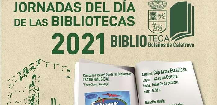 El Ayuntamiento de Bolaños celebra el Día de las Bibliotecas con actividades para todos los públicos y la colaboración de autores locales