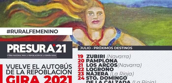 El Autobús de la Repoblación llegará el próximo 27 de julio a Sigüenza