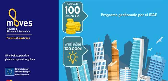 Abierta la convocatoria de MOVES Singulares II, que repartirá 100 millones para proyectos innovadores de movilidad eléctrica