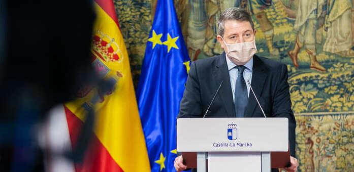 """García-Page: """"no tenemos más remedio, no hay alternativa, no tenemos otra opción"""" en relación al endurecimiento de restricciones"""