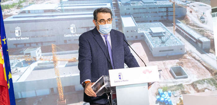 Las obras del nuevo hospital de Cuenca se han ejecutado ya en más de un 50 por ciento