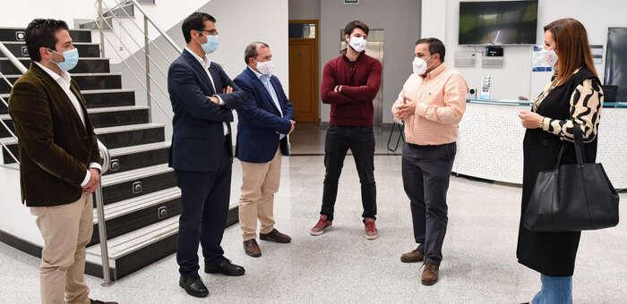 La Diputación de Ciudad Real promueve una investigación sobre reciclaje de plásticos y resinas en el Centro Nacional del Hidrógeno