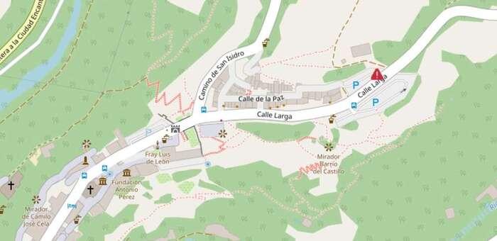 Herido un joven de 26 años tras precipitarse por un terraplén en Cuenca