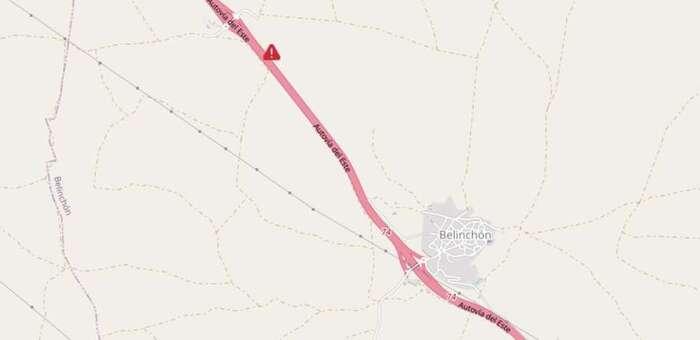 Una colisión entre dos vehículos causa seis heridos en Belinchón