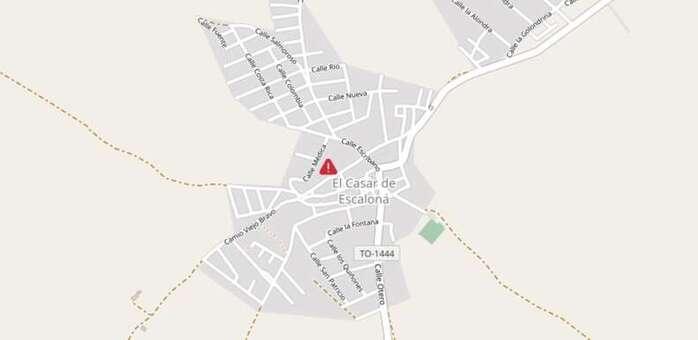 Herida una persona tras colisionar dos vehículos, uno de ellos de Protección Civil, en El Casar de Escalona (Toledo)