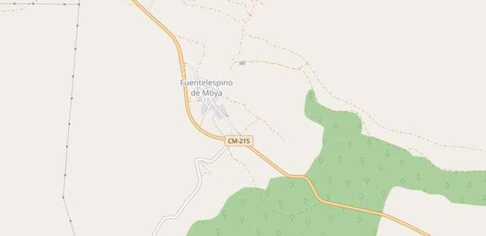 Herida una menor de 14 años tras precipitarse desde unos 5 metros en una zona de montaña de Fuentelespino de Moya (Cuenca)