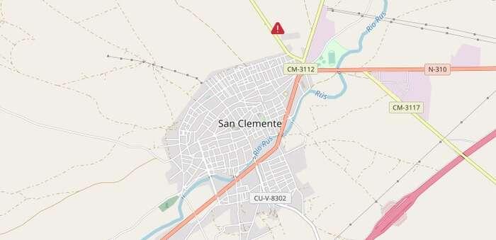 Dos trabajadores de limpieza de tuberías trasladados al hospital tras sufrir quemaduras en San Clemente