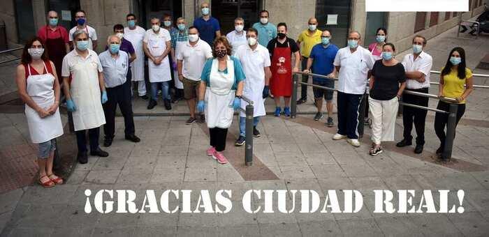 Agradecimiento de la Asociación de Vendedores           del Mercado Municipal de Abastos de Ciudad Real