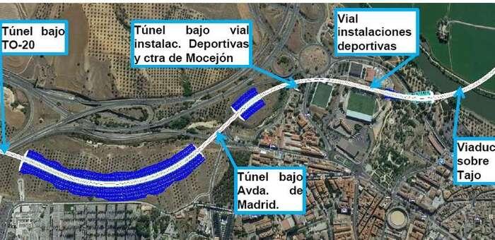 El Colegio de Ingenieros de Caminos se decanta por una tercera alternativa en Toledo para la línea de alta velocidad Madrid-Extremadura