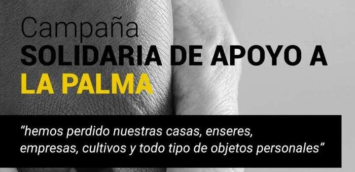 NP-Apehosteleria y Turismo inicia una campaña de apoyo a los ciudadanos de La Palma