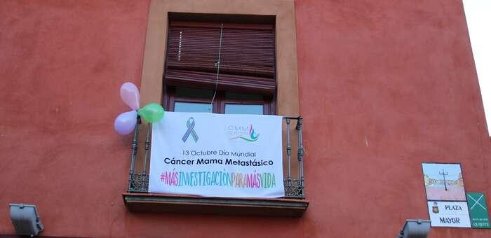 La Solana se une a la visualización del Día del Cáncer de Mama Metástico