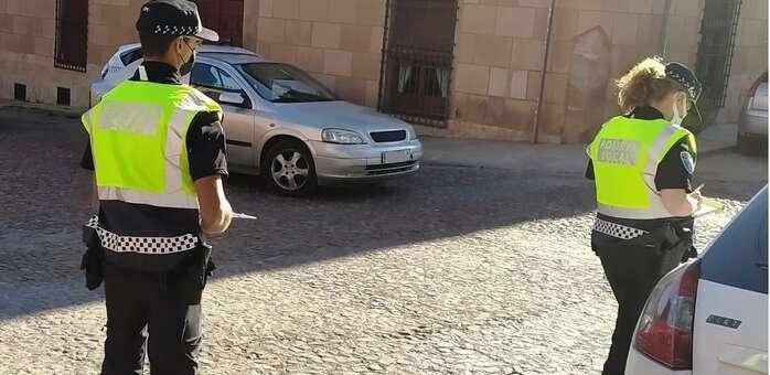 Denunciados en La Solana dos conductores por maniobras negligentes al volante