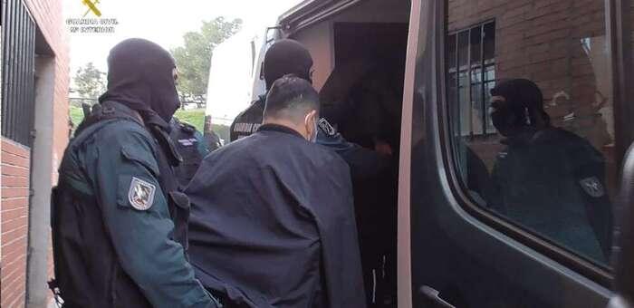 Desmantelada una organización especializada en robos de viviendas en las provincias de Madrid y Toledo