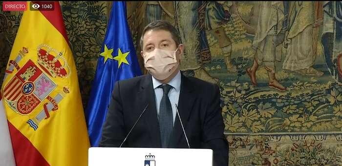 (Directo) (DIRECTO) Comparecencia del jefe del Ejecutivo de Castilla-La Mancha