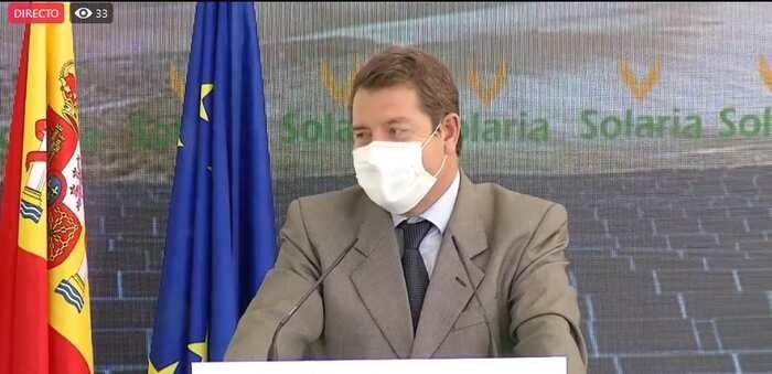 (Directo) Inauguración la planta fotovoltaica 'Solaria-Belinchón I' en la Finca el Pinar