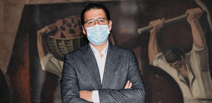Caballero pone en valor la trayectoria y entrega de Juan Jiménez en la inauguración virtual del XV Congreso provincial de UGT