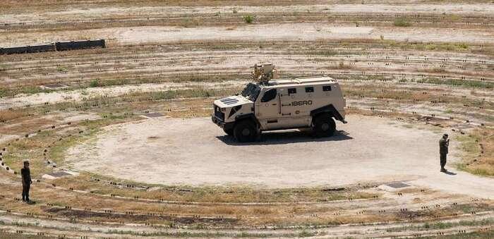 El Íbero de TSD consigue una nueva certificación en prueba de supoervivencia contra la explosión de minas