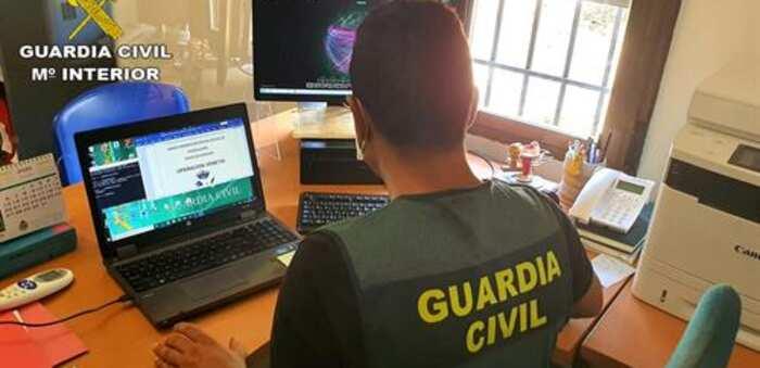 Desmantelada una organización criminal responsable de una estafa telemática de 55.500 euros