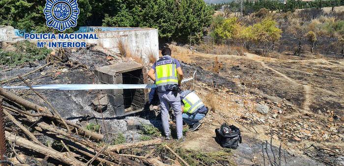 Los especialistas en incendios de la Policía Científica investigaron más de cuatro siniestros al día en el 2019