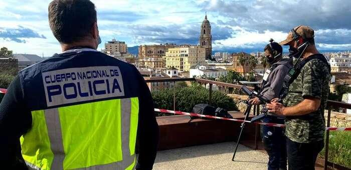 La Policía Nacional despliega a sus agentes especializados en seguridad y protección aérea