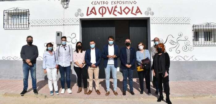Inaugurado el Centro de Interpretación del Yacimiento de La Quéjola en San Pedro (Albacete)