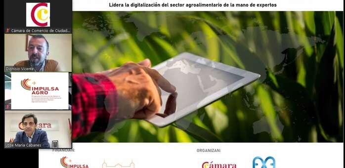 La Diputación Provincial y La Cámara de Comercio de Ciudad Real ponen en marcha un curso ejecutivo sobre la transformación digital del Sector Agroalimentario en un entorno global