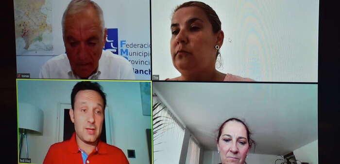 La presidenta de la FEMPCLM destaca que el despliegue de fibra óptica alcanza ya al 70% de hogares y empresas de Castilla-La Mancha
