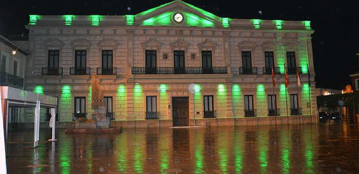 En el Día Nacional de la Artritis la fachada del ayuntamiento y los Molinos de Alcázar se iluminarán de color verde