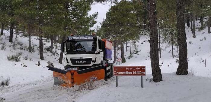 La Diputación de Albacete capta el apoyo del Gobierno de España para ejecutar los seis proyectos que la institución provincial presentó para revertir los daños que la borrasca Gloria causó en otras tantas carreteras de su Red Viaria