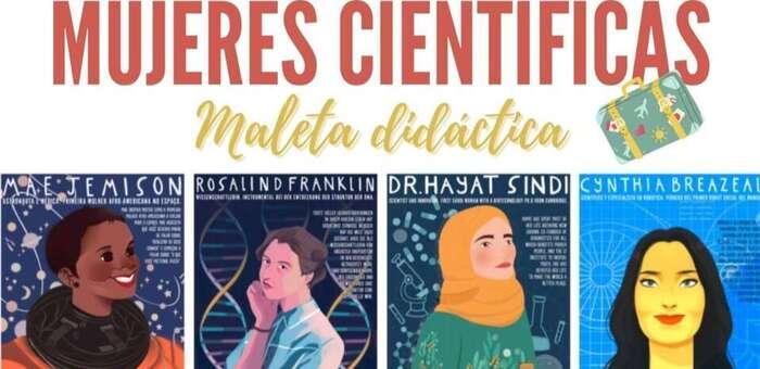 Las 'Mujeres Científicas' protagonizan la maleta didáctica de la Diputación de Albacete con la que se trabaja en centros educativos de la provincia para romper barreras y estereotipos de género