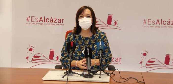 """La alcaldesa de Alcázar pide responsabilidad individual a los vecinos """"porque si no ponemos de nuestra parte no frenaremos los contagios"""""""