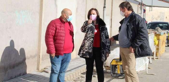El ayuntamiento de Alcázar continúa con el Plan de Acerados por valor de 37.000 euros