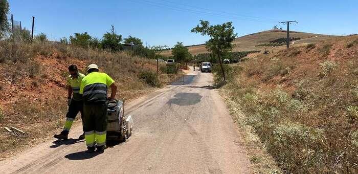 El Ayuntamiento de Alcázar arregla el Camino de Santero