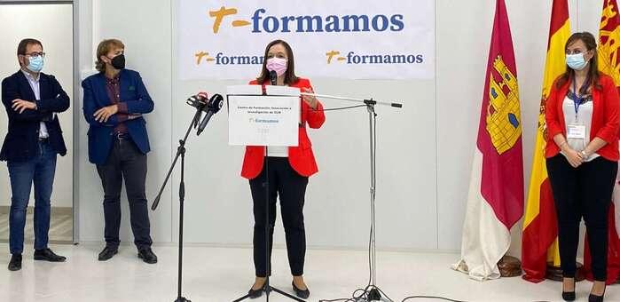 Inauguradas en Alcázar las instalaciones de T-formamos, nuevo Centro de formación, innovación e investigación