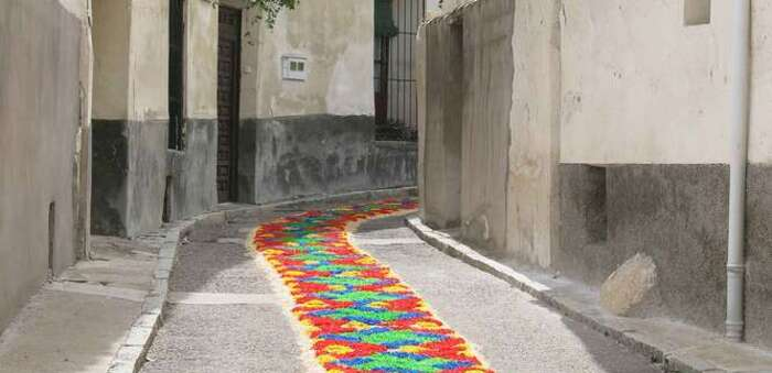 Almonacid tejerá una alfombra floral jacobea