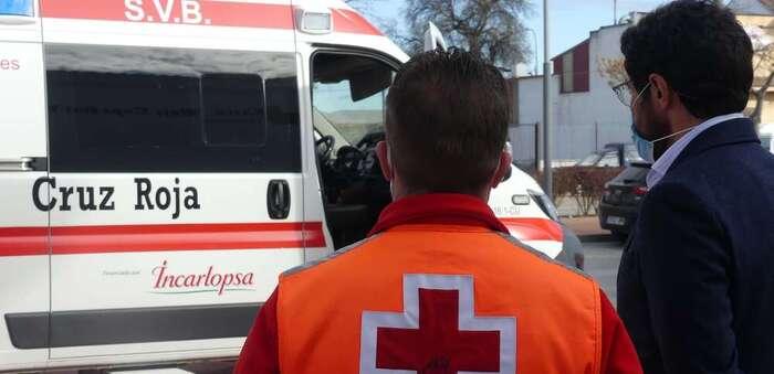 Cruz Roja pone en funcionamiento una nueva ambulancia SVB en la provincia de Cuenca