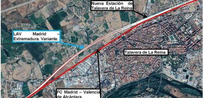 El Colegio de Ingenieros de Caminos considera que se debería plantear una alternativa soterrada en Talavera para la línea AVE Madrid-Extremadura