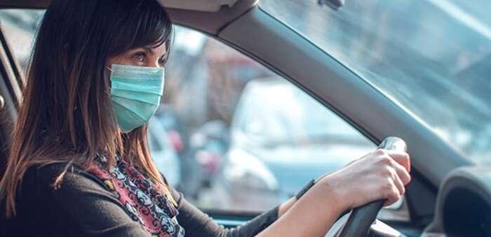 #OCU responde ¿Pueden multar por no llevar mascarilla dentro del coche?
