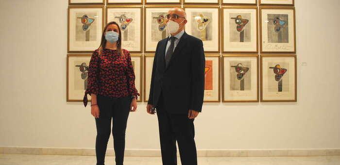 El Quijote y La Mancha, protagonistas de la exposición de Juan Méjica en Valdepeñas