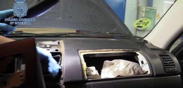 """Desarticulado en Seseña un grupo criminal dedicado a la distribución de cocaína por todo el territorio nacional utilizando vehículos """"caleteados"""""""