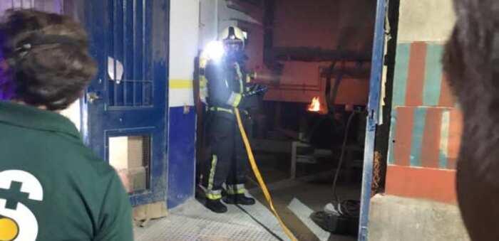 La rápida intervención del personal de mantenimiento permite sofocar en poco tiempo un conato de incendio originado en una sala de máquinas del Hospital Virgen de la Salud de Toledo
