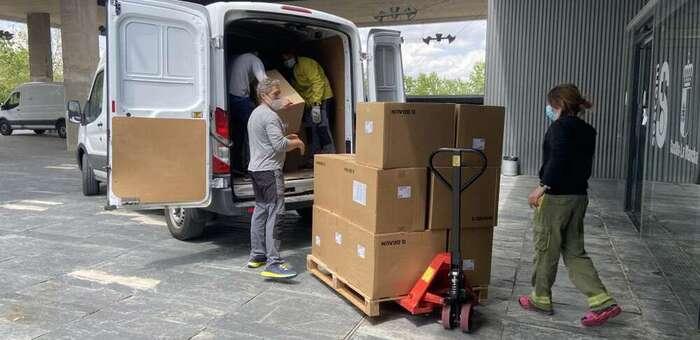 Castilla-La Mancha ha superado los 47 millones de artículos de protección enviados a los centros sanitarios desde el inicio de la pandemia