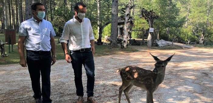 Invertidos en el parque cinegético 'El Hosquillo' 250.000 euros entre 2021 y 2022 para mejorar las instalaciones y la experiencia del visitante