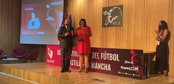 """El Ejecutivo autonómico destaca que el premio 'Sancho' """"nos anima e infunde confianza como Gobierno para seguir trabajando en favor del deporte regional"""""""